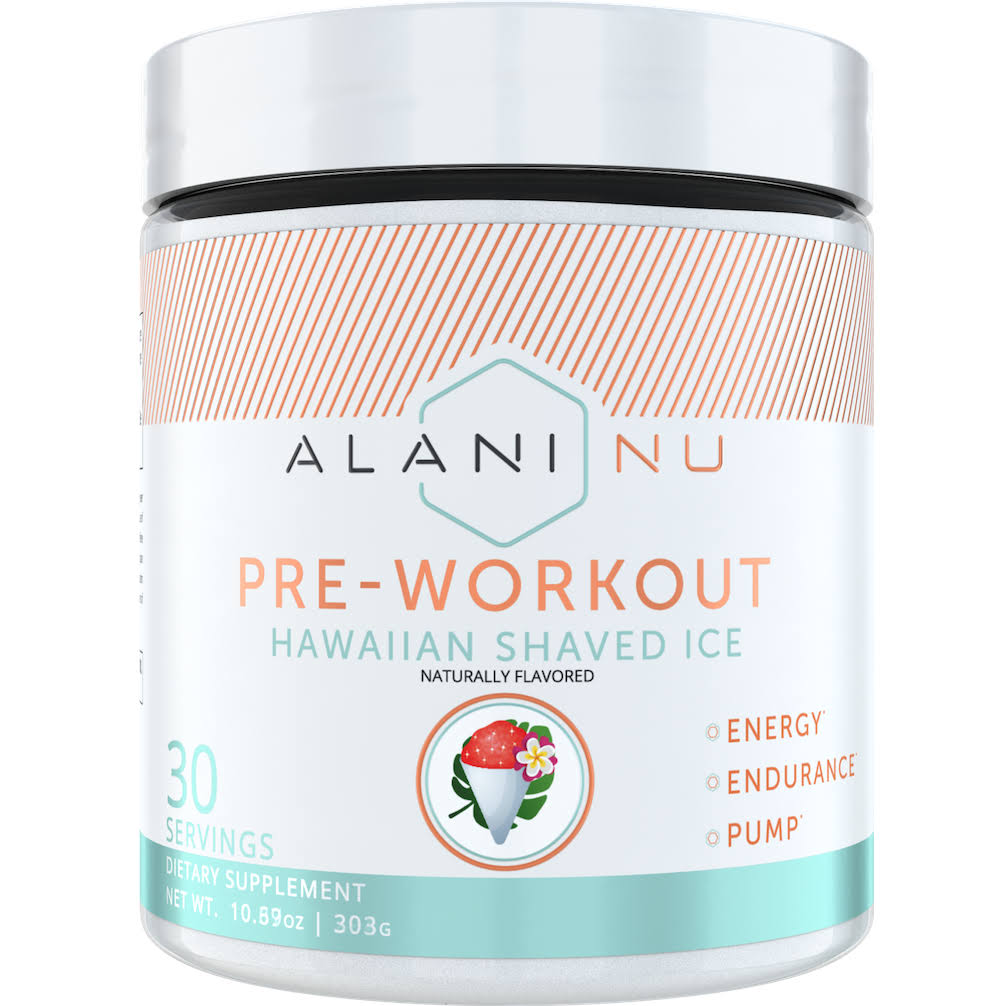 Alani Nu Pre-Workout - 30 Servings - Hawaiian Shaved Ice by A1 Supplements