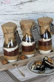 geschenke aus der küche backmischung im glas für brownies