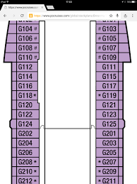 Breakaway Deck Plan 13 by Balcony On Britannia Cruise Critic Message Board Forums