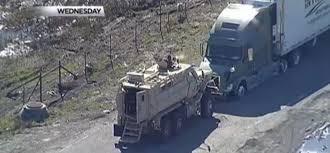 100 Swat Team Truck Texas Sheriffs SWAT Team Uses MRAP To End Stolen 18wheeler