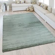 kurzflor teppich wohnzimmer meliert teppich grün teppich