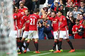 EPL 2016 17 Manchester United 4 1 Leicester City