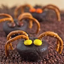 Rice Krispie Halloween Treats Spiders by 15 Fun Halloween Party Food Ideas For Kids Its Yummi