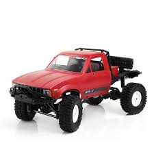 WPL C14 1:16 2CH 4WD Children RC Truck 2.4G Off Road Truck Electric ...