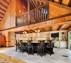 Gallery Of Log Cabin Kitchens With Modern And Rustic Style