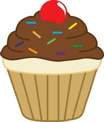 Cupcake clipart chocolate cupcake 3