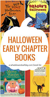 Best Halloween Books For Preschool by Halloween Chapter Books For Kids