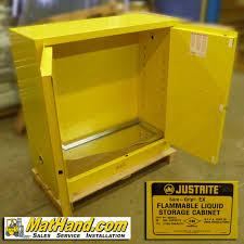 justrite 40gallon flammable storage cabinet