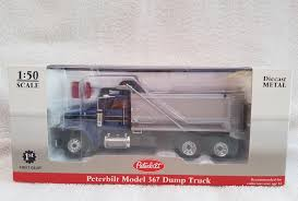 FIRST GEAR 1 50 Scale 50-3163 Peterbilt Model 367 Dump Truck In Blue ...