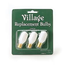 department 56 collections replacement light bulb