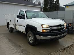 1GCHC24D77E188967 | 2007 WHITE CHEVROLET SILVERADO On Sale In IN ...