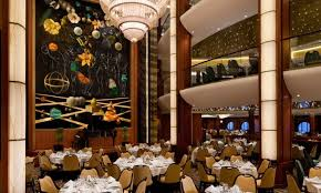 Harmonious Open Kitchen To Dining Room by Harmony Of The Seas Dining Royal Caribbean Incentives