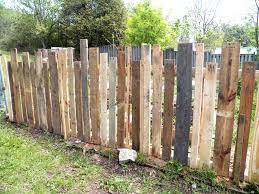 Cute Pallet Picket Fence It Is Around Our Veggie Garden Diy Guide
