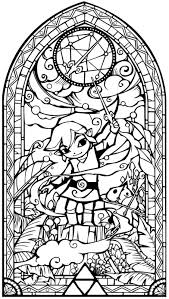 Just For 2016 The First Zelda Adult Colouring A4 Pages To Take You Into Next Year Enjoy