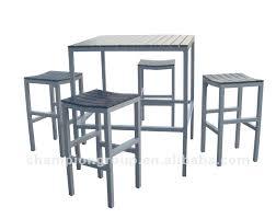 cadre design pas cher table haute cuisine pas cher cool en plein air table de chaise de