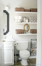 Guest Bathroom Decor Ideas Pinterest by Best 25 Floating Shelves Bathroom Ideas On Pinterest Bathroom
