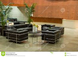 Contemporary Office Lobby Stock Image Of Space