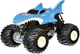 100 Shark Wreak Monster Truck Hot Wheels Jam Vehicle Walmartcom