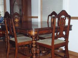 Antique Style Dining Table And Chairs Ideas Walnut Chair ...