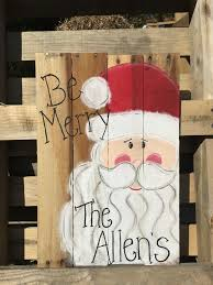 Pallet Wood Paint Party Be Merry December 10