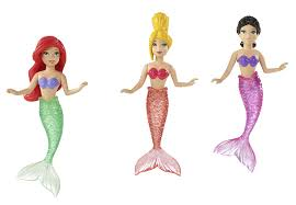 Disney Little Mermaid Bathroom Accessories by Amazon Com Disney Princess Ariel And Her Sisters Doll Set Toys