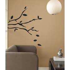 roommates rmk1317gm tree branches peel stick wall decals wall