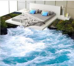 custom vinyl wallpaper 3d flooring self adhesive wallpaper spray