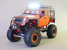 100 Rc Truck Bodys RC Body Shell 110 JEEP WRANGLER RUBICON Hard Body V3 METAL