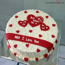 View HD birthday cake for lover