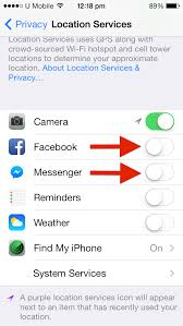 Here s How to Turn off Location Sharing for Messenger by