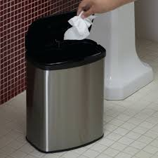 Small Bathroom Trash Can by Image Preview Small Plastic Trash Can Liners Simplehuman Small