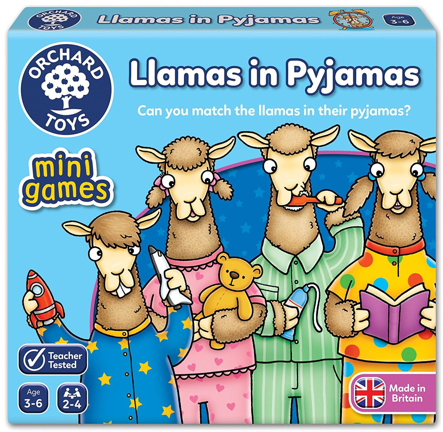 Orchard Toys Llamas in Pyjamas Game