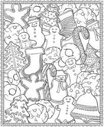 Christmas Designs Coloring Page