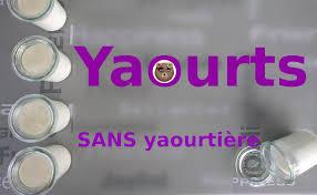 faire des yaourts maison faire des yaourts maison sans yaourtière
