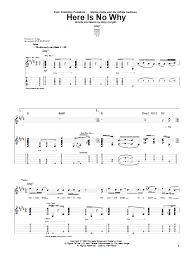 Smashing Pumpkins 1979 Tab by Here Is No Why Guitar Tab By The Smashing Pumpkins Guitar Tab
