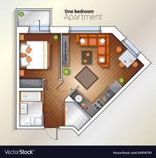 100 One Bedroom Design Modern One Bedroom Apartment Top View