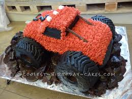 100 Truck Cake Pan Muddy Monster Birthday