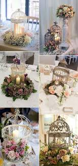Charming Birdcage Candle Holder Decoration Ideas For Rustic Vintage Country Wedding Looking Proposals An Ideal Canadian Celebration