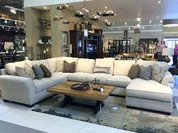 große wohnzimmer sections dekoration ideen living room