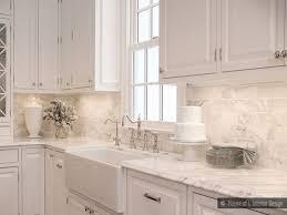 kitchen backsplash white marble tile large marble tiles