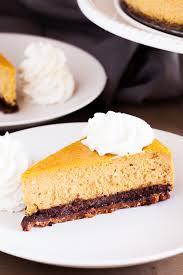 Pumpkin Layer Cheesecake by Ultimate Pumpkin Cheesecake The Pkp Way