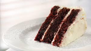 velvet cake mit natürlichen farbstoffen