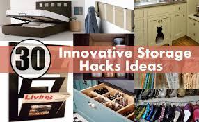 30 Innovative Storage Hacks Ideas