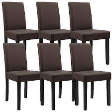 möbel stühle esszimmer schwarz kunst leder polster stuhl