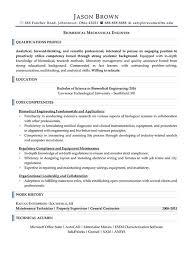 Engineering Resume Examples