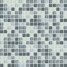 frosted grayscale blend glass mosaic textured tile mesh backed sheet