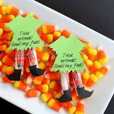 Halloween Candy Tampering by Halloween Candy Ideas Witch Legs The Country Chic Cottage