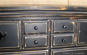 Black Distressed Furniture Unusual Ideas Design Furniture Idea