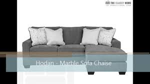 Ashley Hodan Microfiber Sofa Chaise by Hodan Marble Sofa Chaise The Classy Home Video Dailymotion