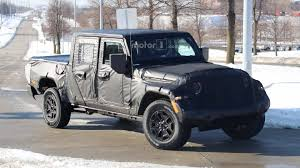 100 4 Door Jeep Truck Wrangler Pickup Hitting Showrooms In April 2019